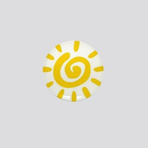 Sunshine Mini Button