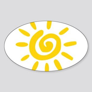 Sunshine Sticker (Oval)