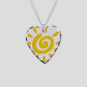 Sunshine Necklace Heart Charm