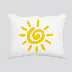 Sunshine Rectangular Canvas Pillow