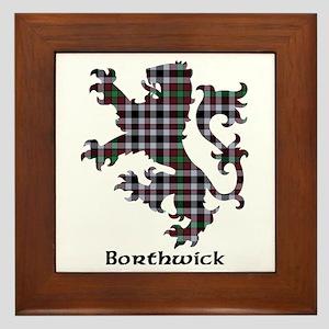 Lion - Borthwick Framed Tile