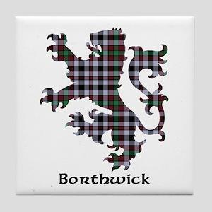 Lion - Borthwick Tile Coaster
