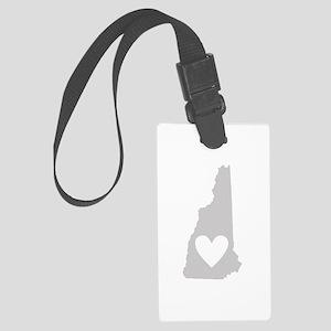 Heart New Hampshire Large Luggage Tag