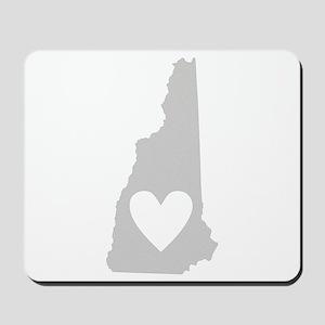 Heart New Hampshire Mousepad
