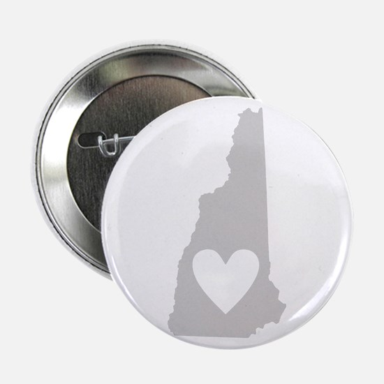 "Heart New Hampshire 2.25"" Button"