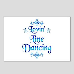 Lovin Line Dancing Postcards (Package of 8)