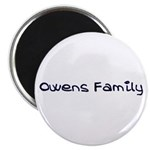Owens Family Magnet