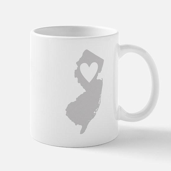 Heart New Jersey Mug
