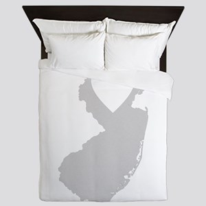 Heart New Jersey Queen Duvet