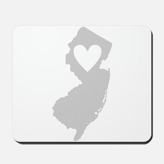 Heart New Jersey Mousepad