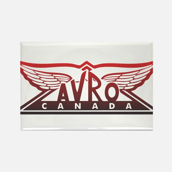 Avro Canada Rectangle Magnet