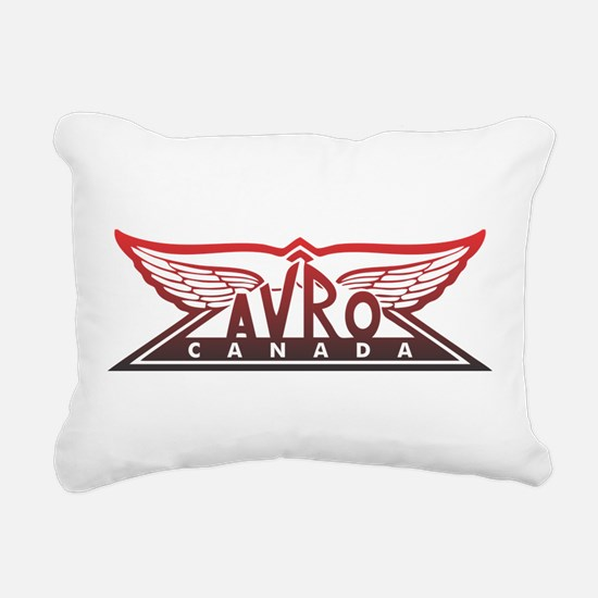 Avro Canada Rectangular Canvas Pillow
