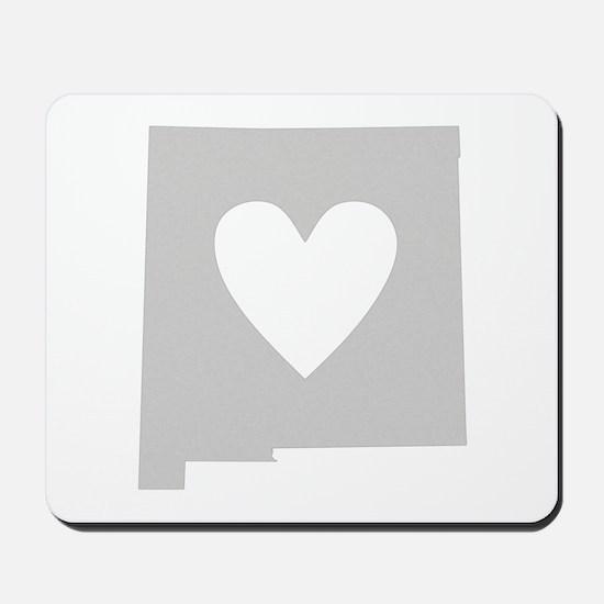 Heart New Mexico Mousepad