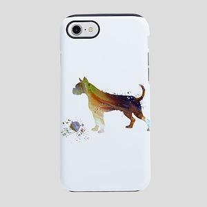 boxer dog art iPhone 7 Tough Case