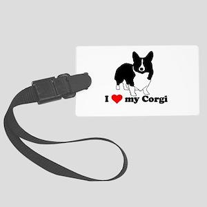 I love my Corgi Luggage Tag