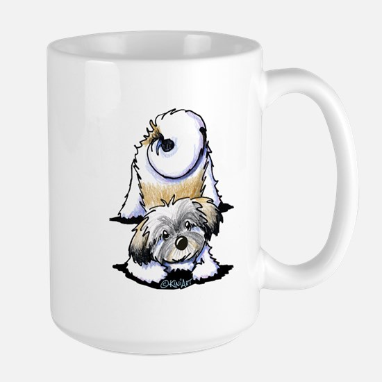 Playful Havanese Large Mug