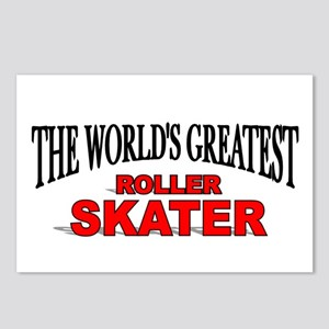 """The World's Greatest Roller Skater"" Postcards (Pa"