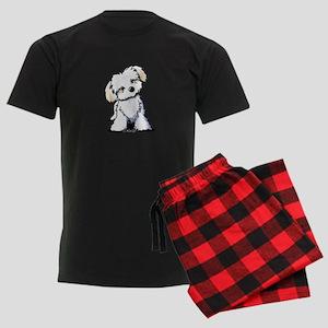 Havanese Sweetie Men's Dark Pajamas
