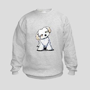 Havanese Sweetie Kids Sweatshirt