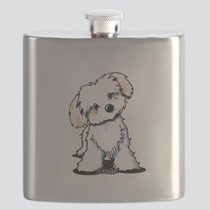 Havanese Sweetie Flask