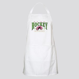 Real Women Play Hockey BBQ Apron