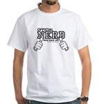 Official Neard not back off! White T-Shirt