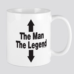 The Man The Legend Small Mugs