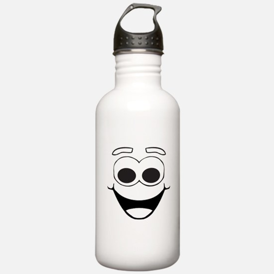 HAPPY SMILEY FACE Water Bottle