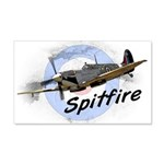 Spitfire 20x12 Wall Decal