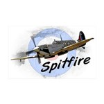 Spitfire 35x21 Wall Decal