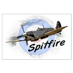 Spitfire Large Poster