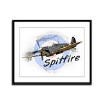 Spitfire Framed Panel Print
