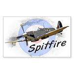 Spitfire Sticker (Rectangle)