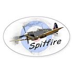 Spitfire Sticker (Oval)