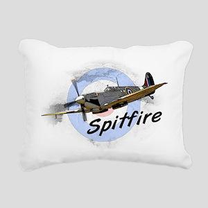 Spitfire Rectangular Canvas Pillow