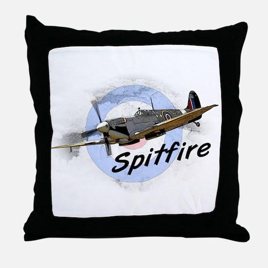 Spitfire Throw Pillow