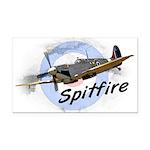 Spitfire Rectangle Car Magnet
