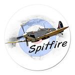 Spitfire Round Car Magnet