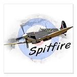 Spitfire Square Car Magnet 3