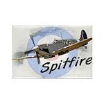 Spitfire Rectangle Magnet