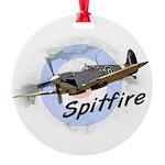 Spitfire Round Ornament