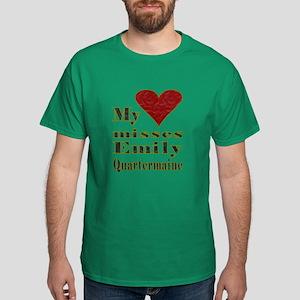 Heart Misses Emily Quartermaine Dark T-Shirt