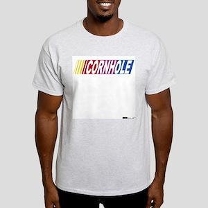 Cornhole Racer Ash Grey T-Shirt