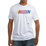 Cornhole Racer Fitted T-Shirt