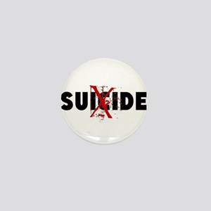 No Suicide Mini Button