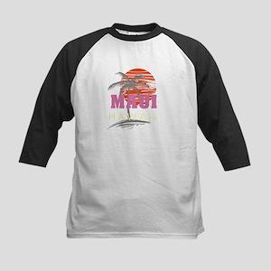 Maui Sunset Baseball Jersey