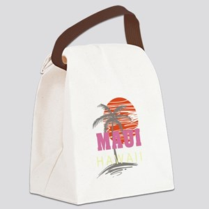Maui Sunset Canvas Lunch Bag