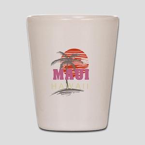 Maui Sunset Shot Glass