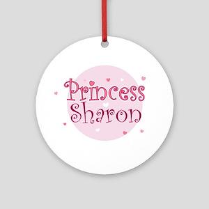 Sharon Ornament (Round)