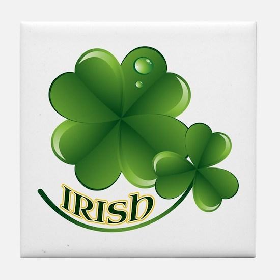 Irish Tile Coaster
